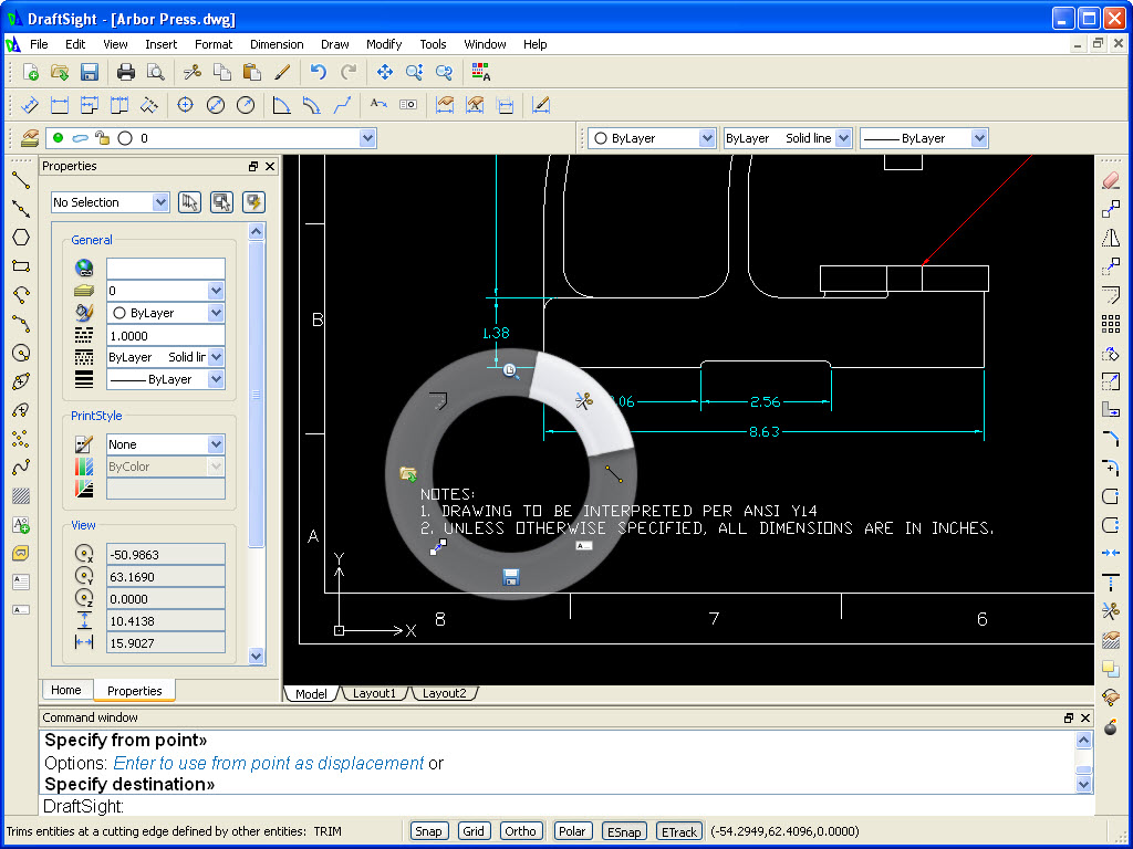 Draftsight New 2d Software From Dassault Systems Axis