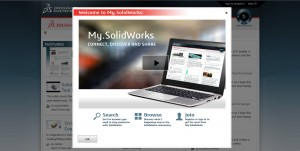 My.SolidWorks open screen