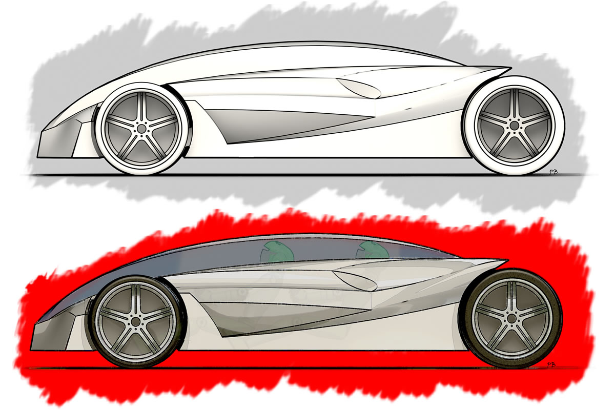 Car Sketch Axis Cad Solutions